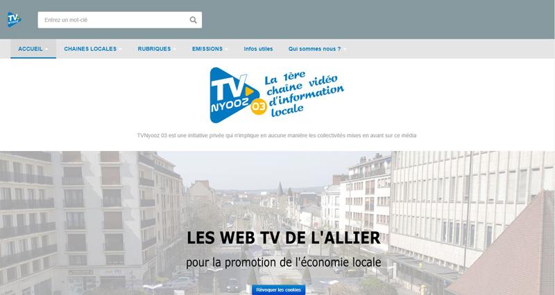 image site web tv